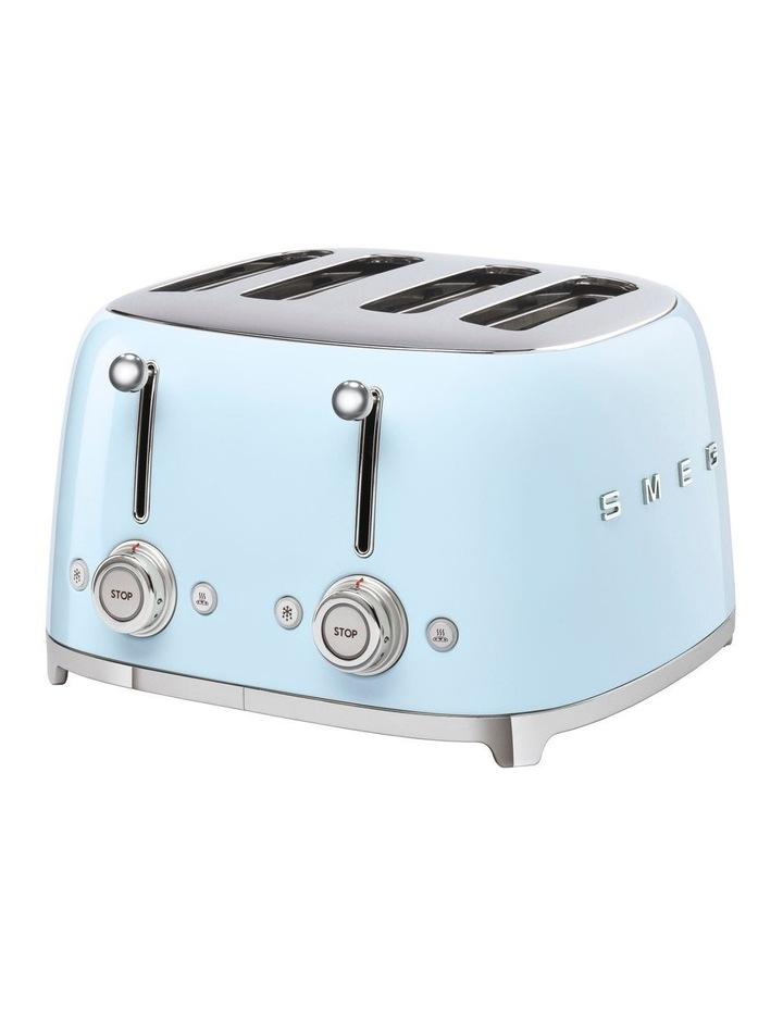 50's Style 4 Slice Toaster Pastel Blue TSF03PBAU image 1