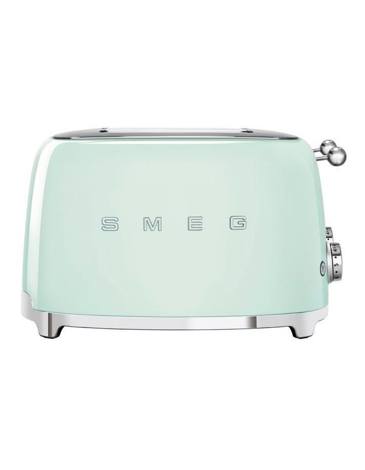 50's Style 4 Slice Toaster Pastel Green TSF03PGAU image 1
