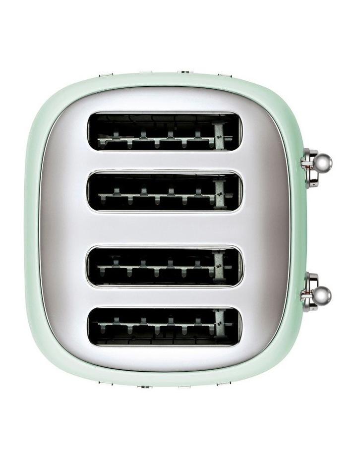 50's Style 4 Slice Toaster Pastel Green TSF03PGAU image 2