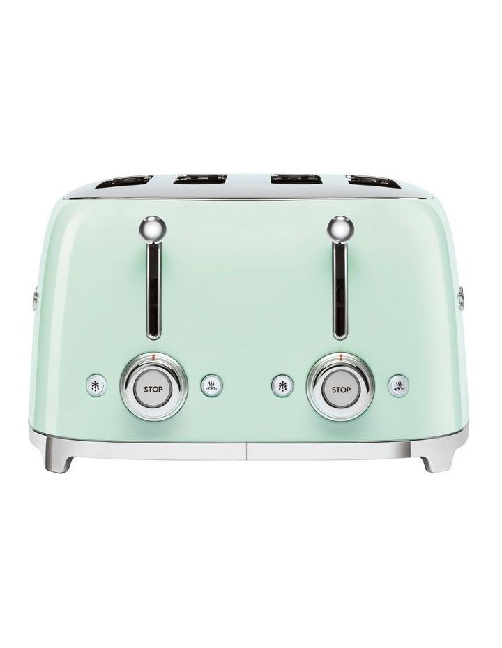 50's Style 4 Slice Toaster Pastel Green TSF03PGAU image 3