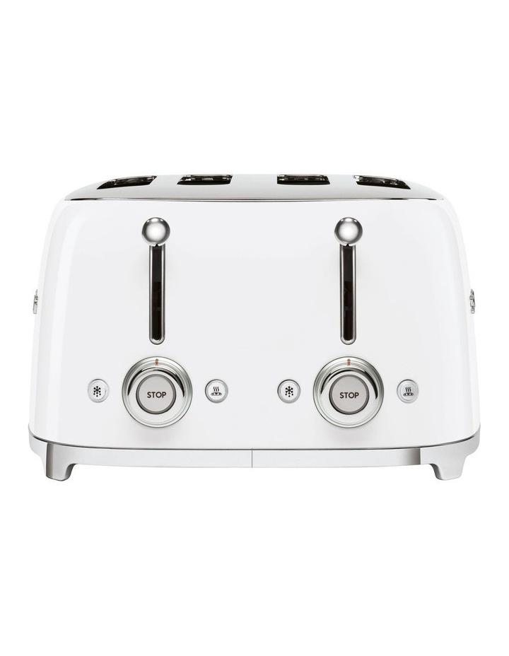 50's Style 4 Slice Toaster White TSF03WHAU image 3