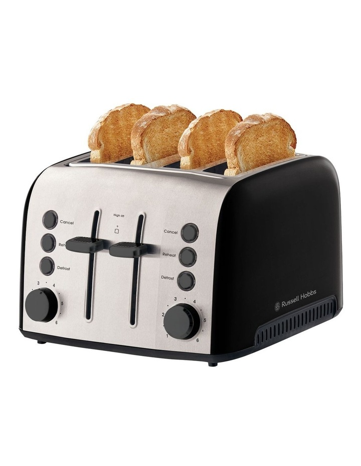 Brooklyn 4-Slice Toaster Black RHT94BLK image 5