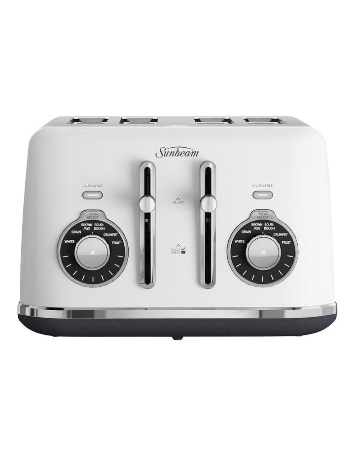 Alinea Select 4 Slice Toaster White TA2840W image 1
