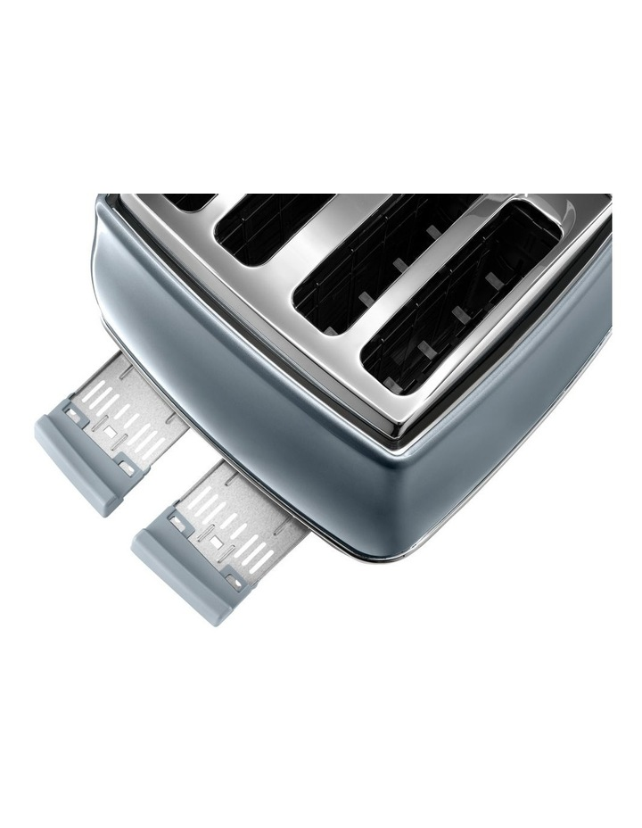 Icona Metallics 4 slice toaster Cobalt Blue CTOT4003AZ image 3