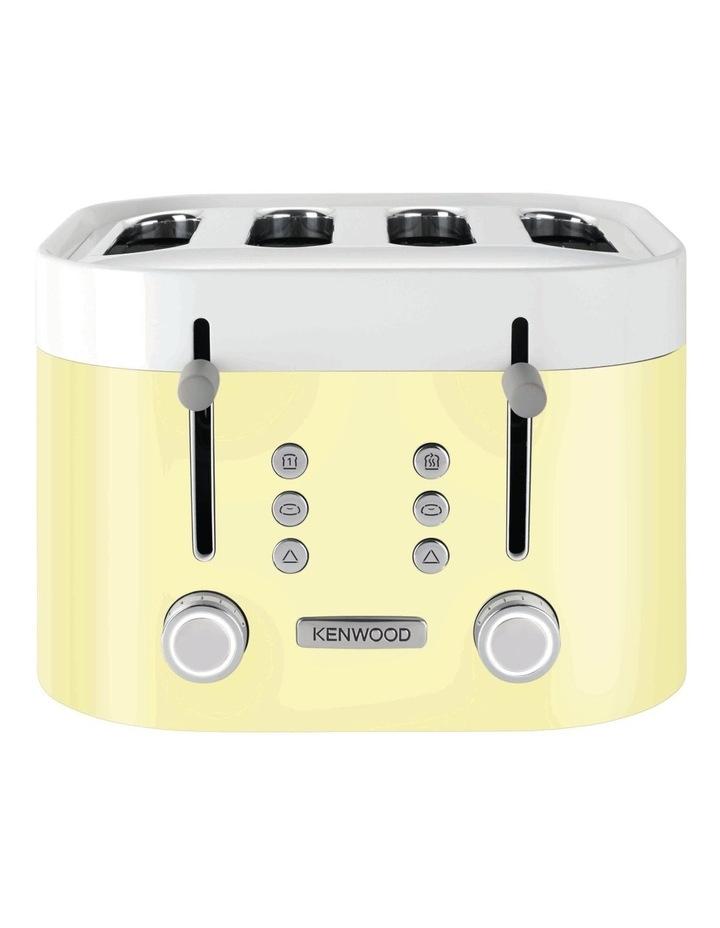 KSense 4 Slice Toaster Yellow TFM400YE image 1