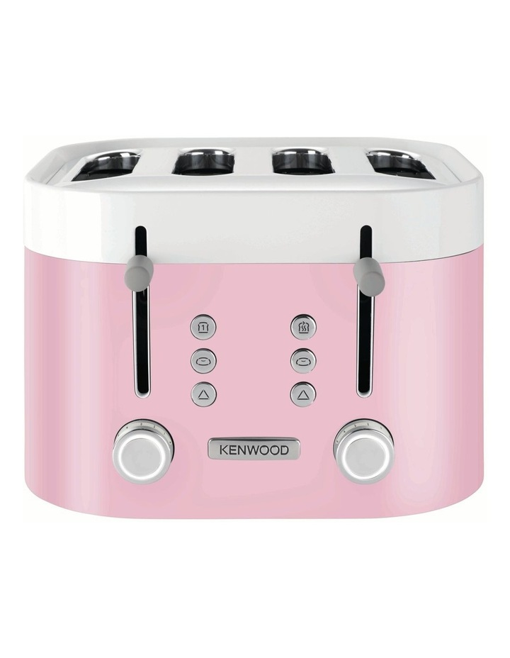KSense 4 Slice Toaster Pink TFM400PK image 1