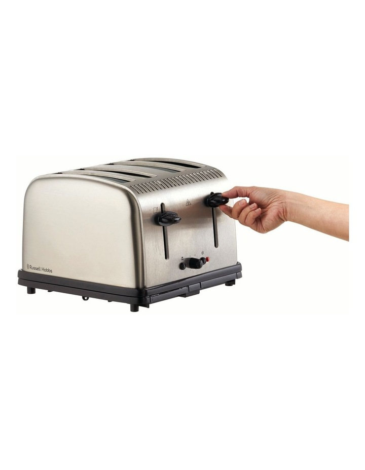 Classic 4-Slice Toaster, Stainless Steel, RHT14BRU image 2