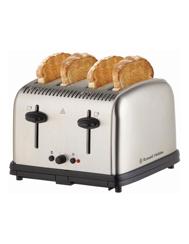 Classic 4-Slice Toaster, Stainless Steel, RHT14BRU image 3
