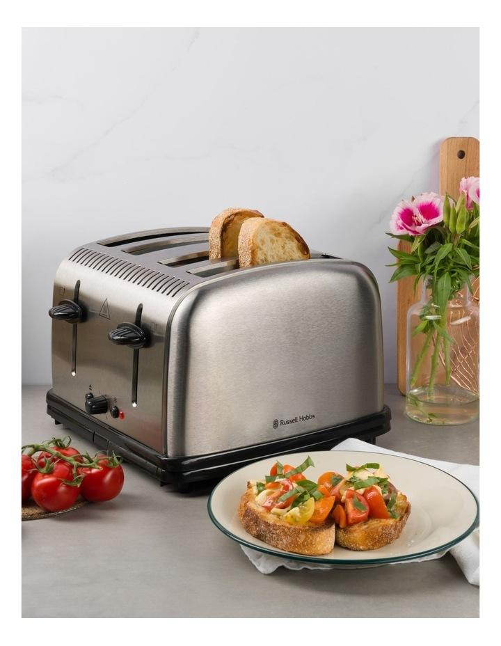 Classic 4-Slice Toaster, Stainless Steel, RHT14BRU image 4