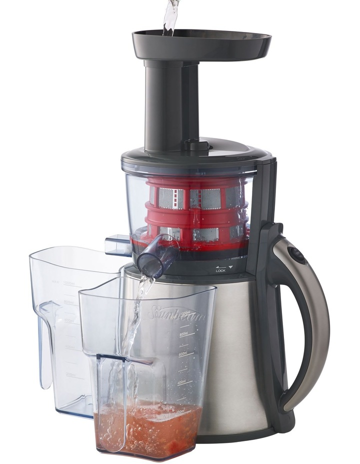 JE9000 Slow Juicer: Stainless Steel image 1