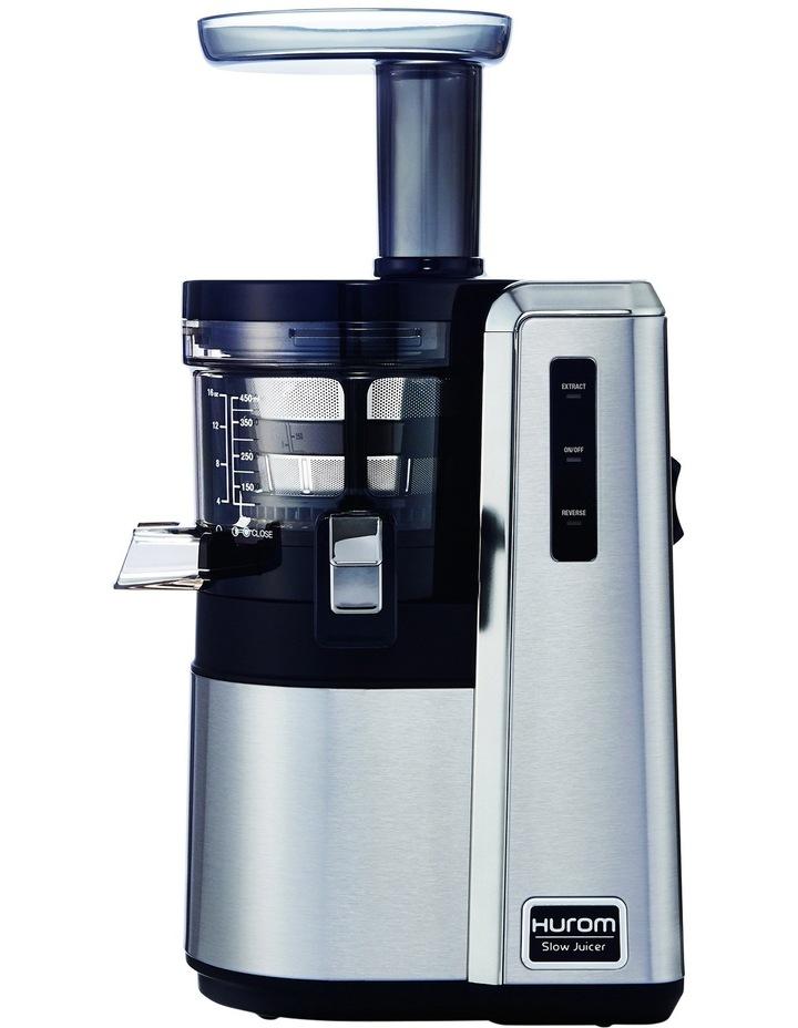 H25 Alpha Slow/Cold Press Juicer: Stainless Steel image 1