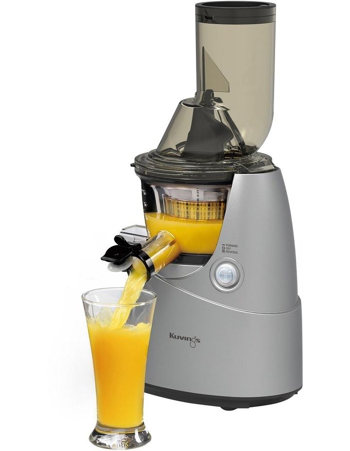 B6000SV Whole Fruit & Vegetable Slow Juicer: Silver image 1