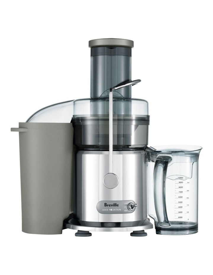 the Juice Fountain Plus Juicer Stainless Steel BJE410 image 1