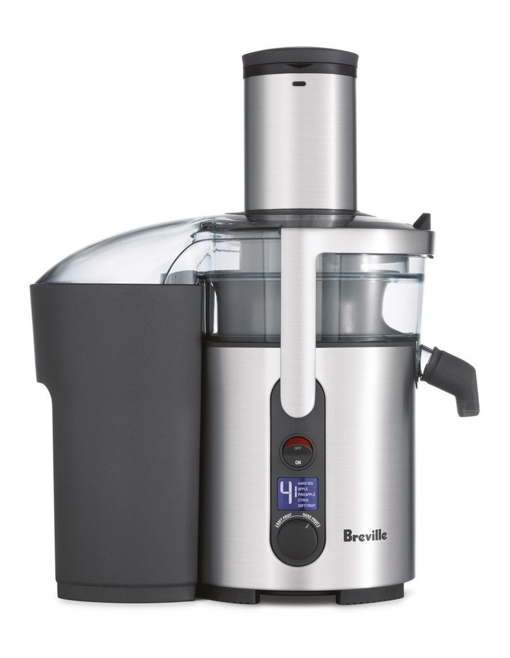 the Froojie Fountain Juicer Brushed Stainless Steel BJE520BSS image 1