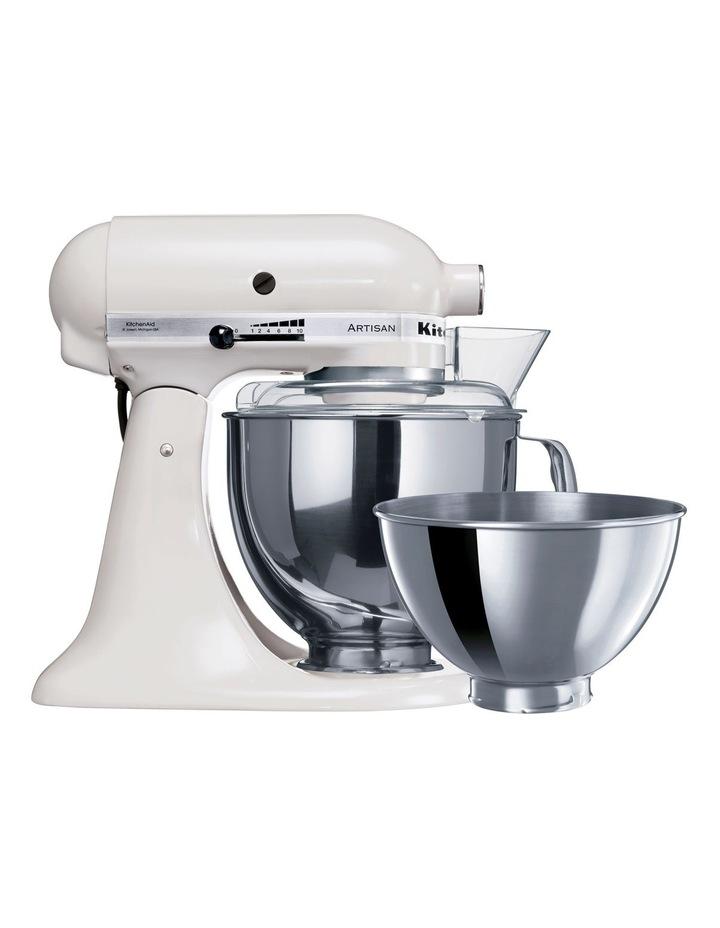 KSM160 Artisan Stand Mixer: White 5KSM160PSAWH image 1