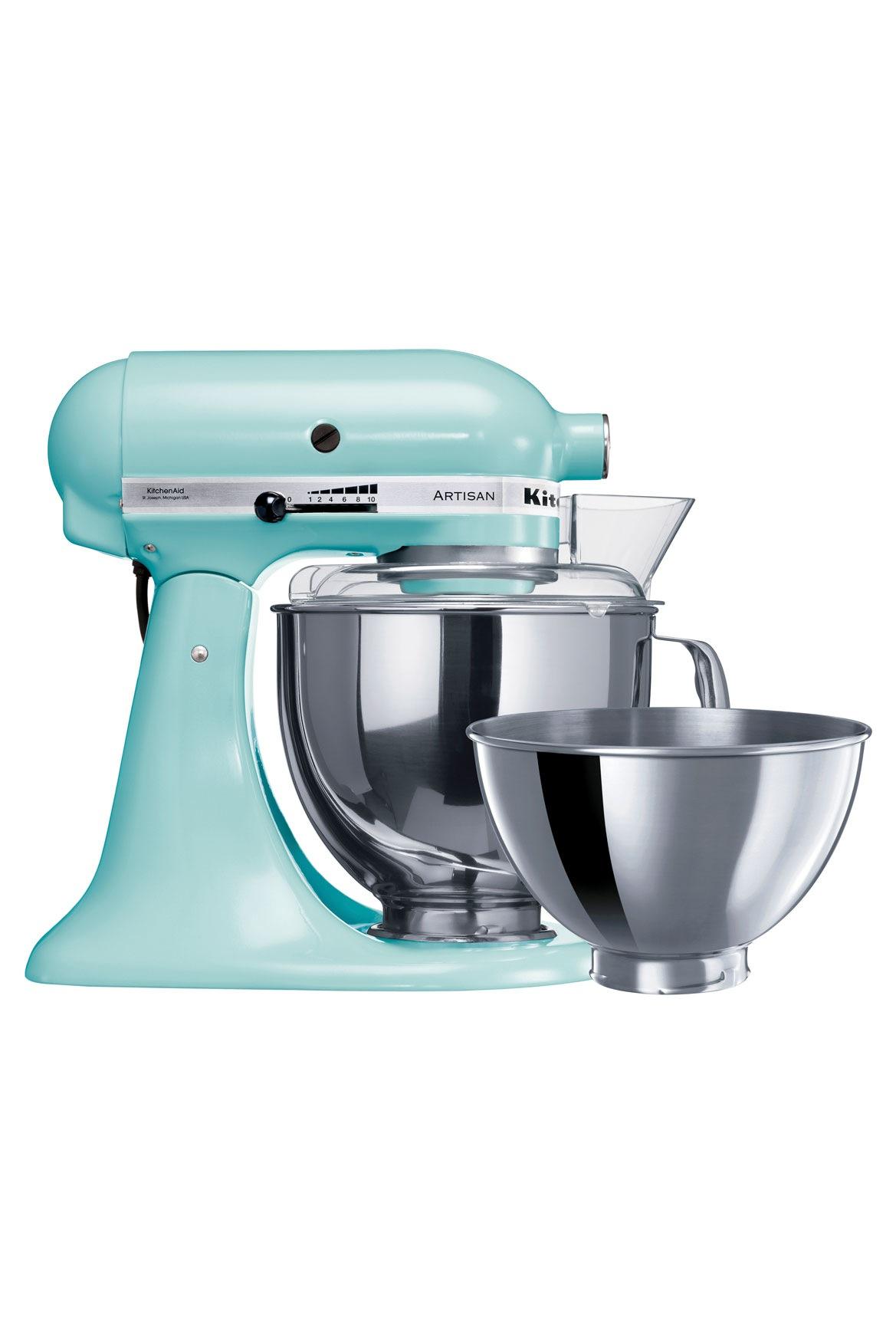 KitchenAid | KSM160 Artisan Stand Mixer: Ice 5KSM160PSAIC | Myer Online
