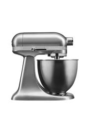 KitchenAid - KSM3311 Artisan Mini Stand Mixer: Contour Silver: 5KSM3311XACU