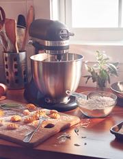 KitchenAid - KSM3311 Artisan Mini Stand Mixer: Matte Black : 5KSM3311XABM