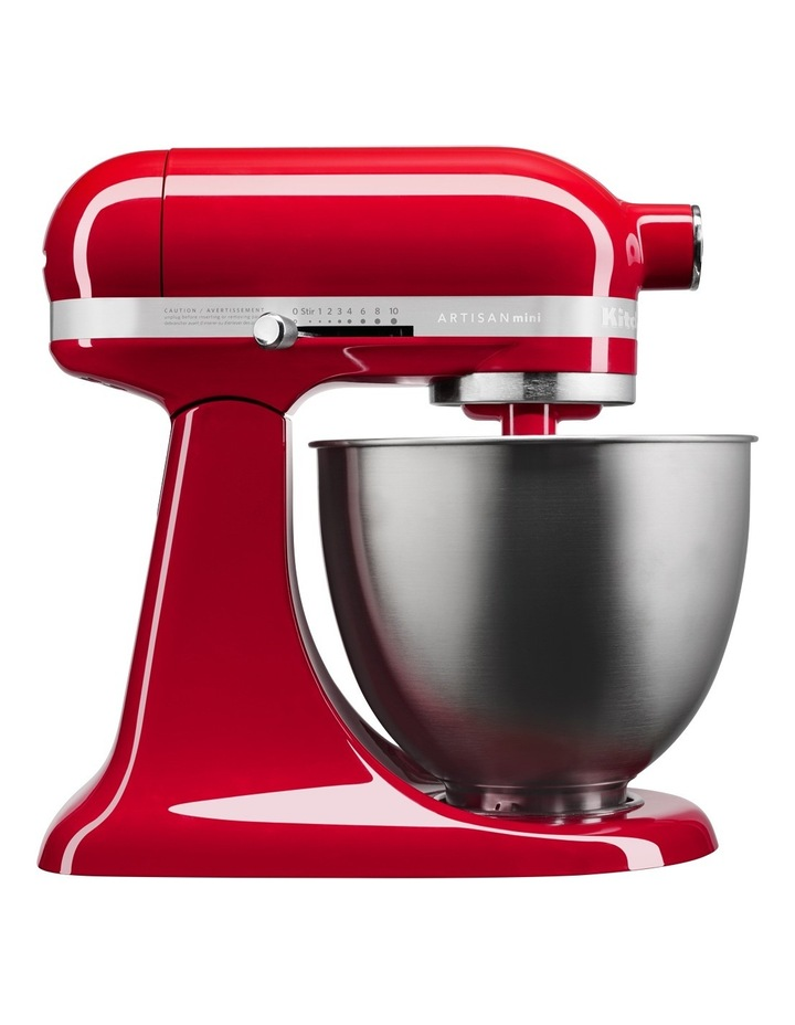 KSM3311 Artisan Mini Stand Mixer: Empire Red: 5KSM3311XAER image 1
