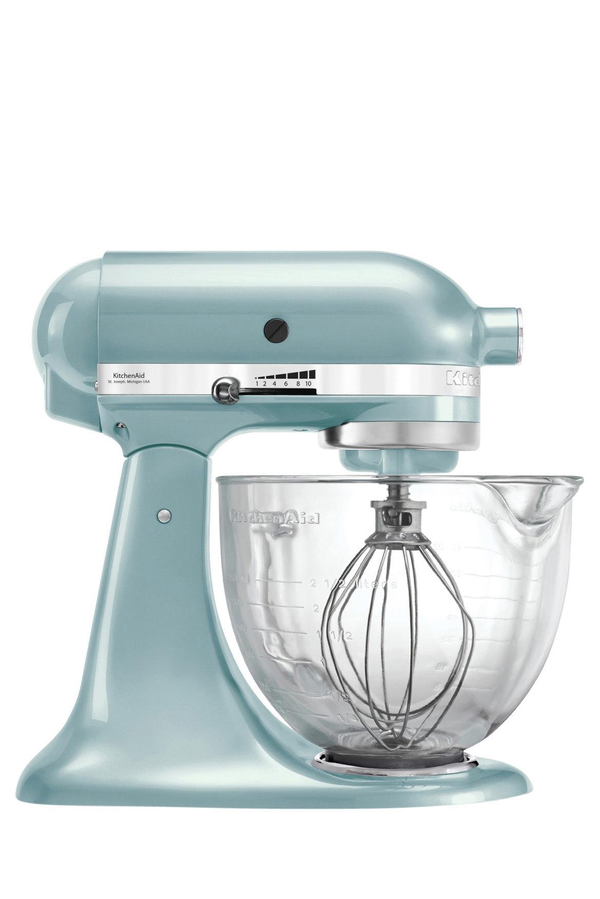 KitchenAid   KSM170 Stand Mixer: Azure Blue   Myer Online