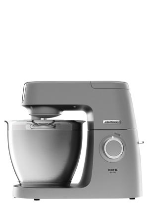Kenwood - Chef Elite XL KVL6300S Kitchen Machine: Silver