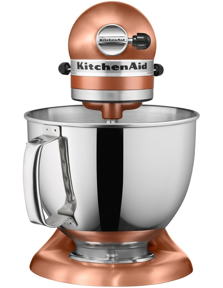 Fine Kitchenaid Ksm150 Artisan Stand Mixer Satin Copper 5Ksm150Psacp Home Remodeling Inspirations Cosmcuboardxyz