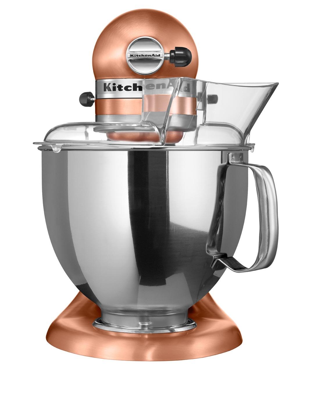 KitchenAid | KSM150 Artisan Stand Mixer - Satin Copper 5KSM150PSACP on copper disney, copper canisters at walmart, copper keurig, copper flatware,