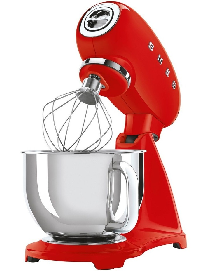 50's Style Mixer with Flex Edge Beater Red SMF03RDAU image 2