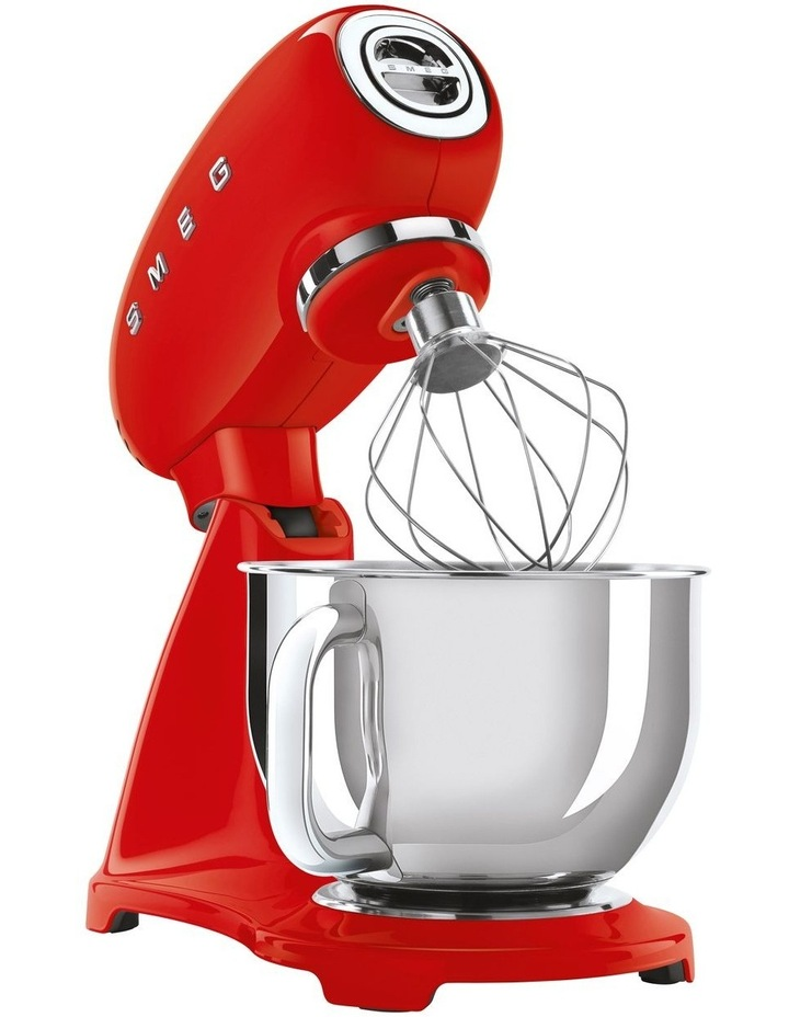 50's Style Mixer with Flex Edge Beater Red SMF03RDAU image 3
