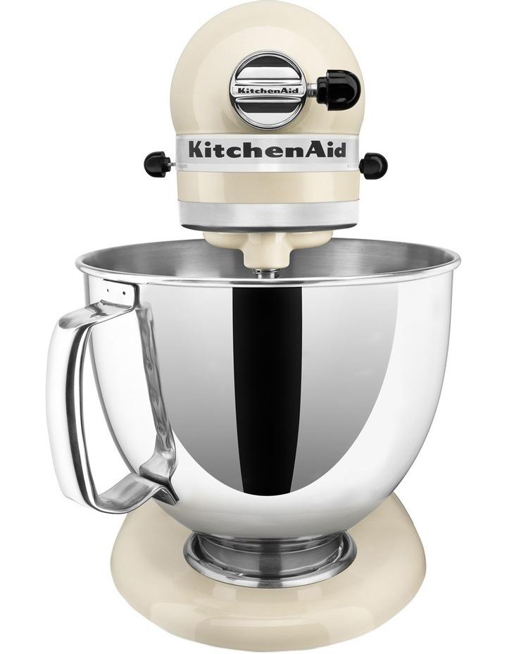 KSM150 Artisan Stand Mixer - Almond Cream 5KSM150PSAAC image 2