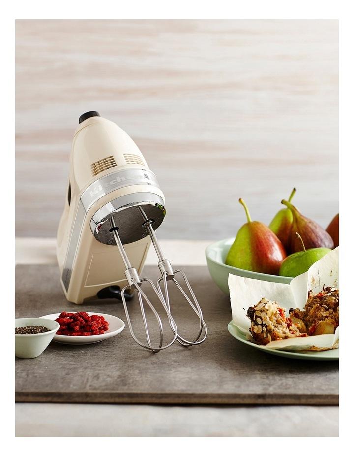 Artisan 9 Speed Hand Mixer: Almond Cream image 2