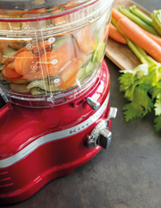 KitchenAid - ProLine Processor: Candy Red