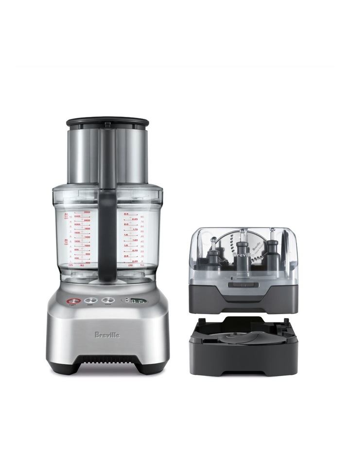 the Kitchen Wizz Peel & Dice Food Processor Brushed Stainless Steel BFP820BAL image 1
