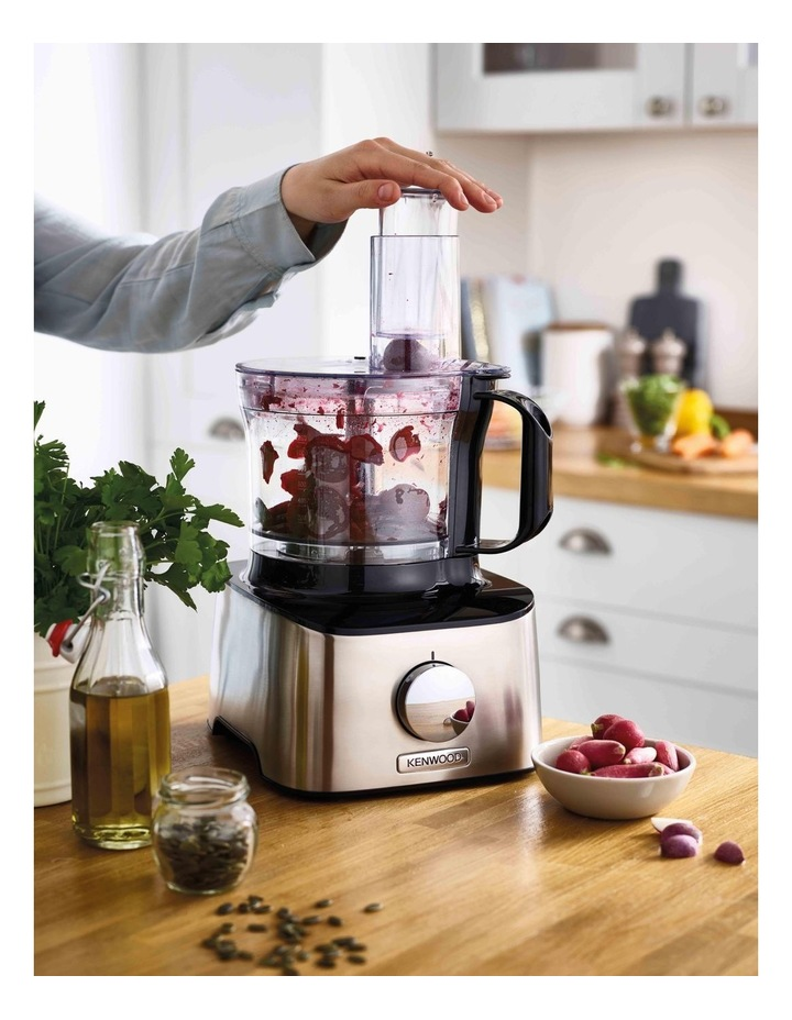 Multipro Compact   Food Processor Stainless Steel FDM304SS image 6