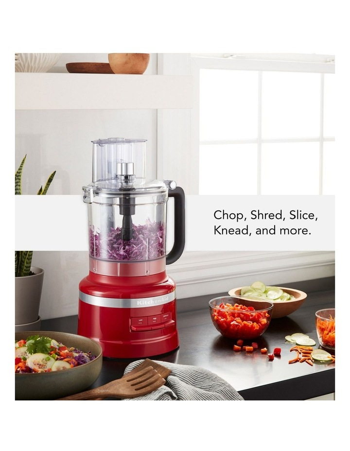KitchenAid 13 Cup Food Processor 5KFP1319AER Empire Red image 2