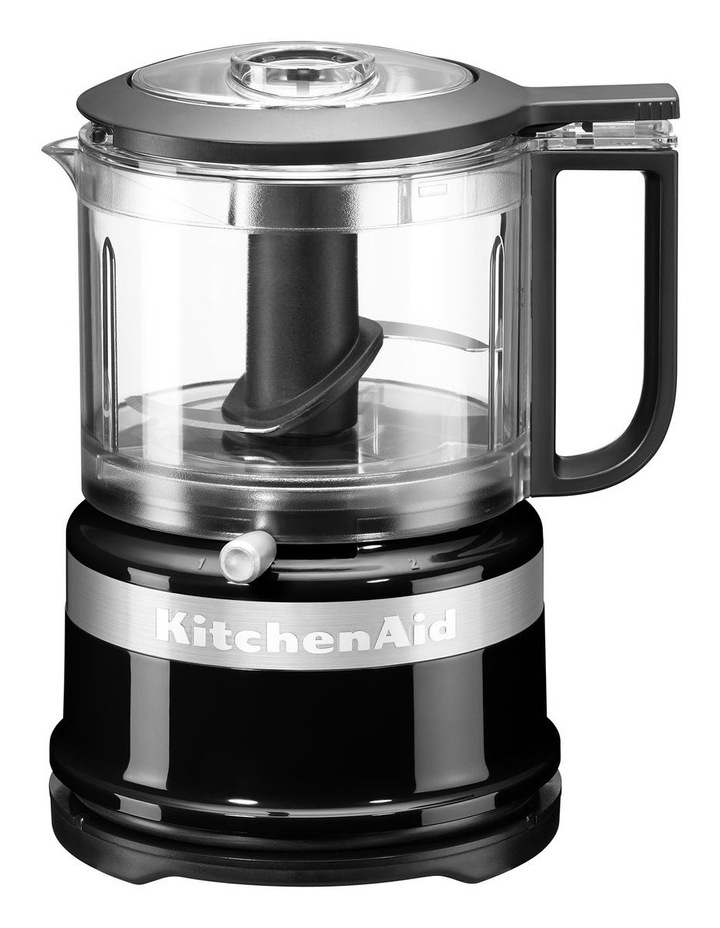 3.5 Cup Mini Chopper: Onyx Black 5KFC3515AOB image 1