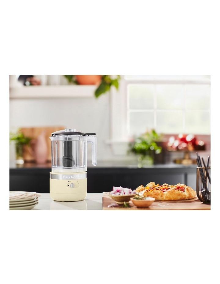 Cordless 5 Cup Food Chopper Almond Cream KFC519AAC image 5