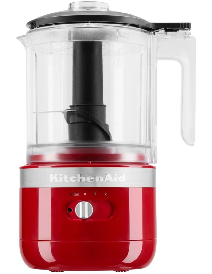 Cordless 5 Cup Food Chopper Empire Red KFC519AER image 1