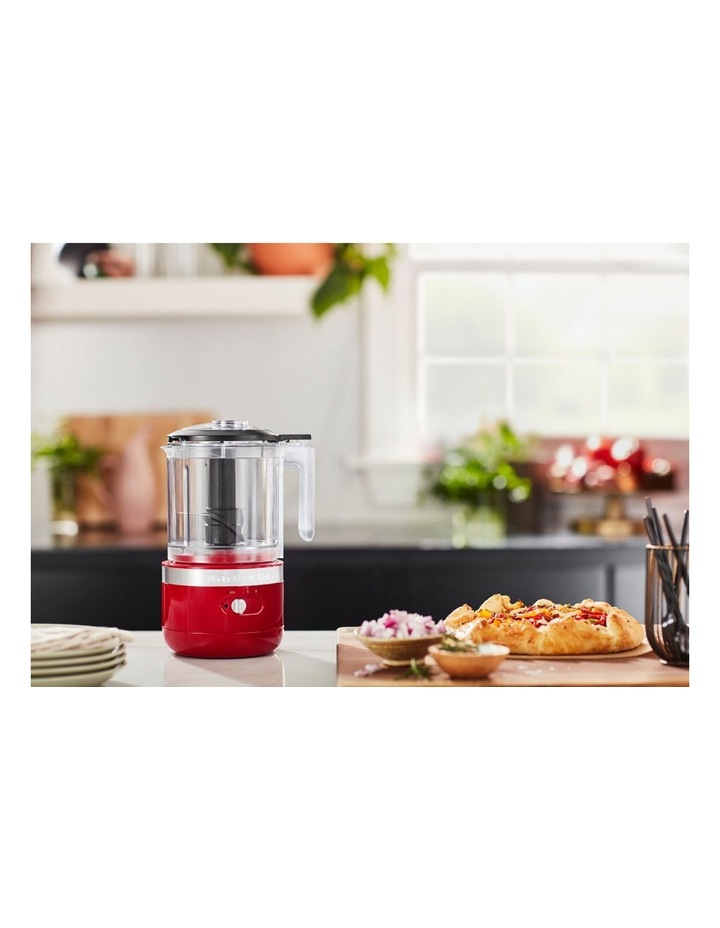 Cordless 5 Cup Food Chopper Empire Red KFC519AER image 4
