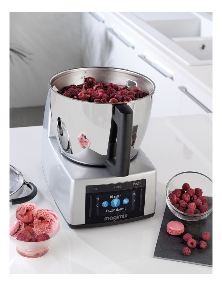 7CO18900A Cook Expert Multifunction Cooking Food Processor: Matt Chrome image 4