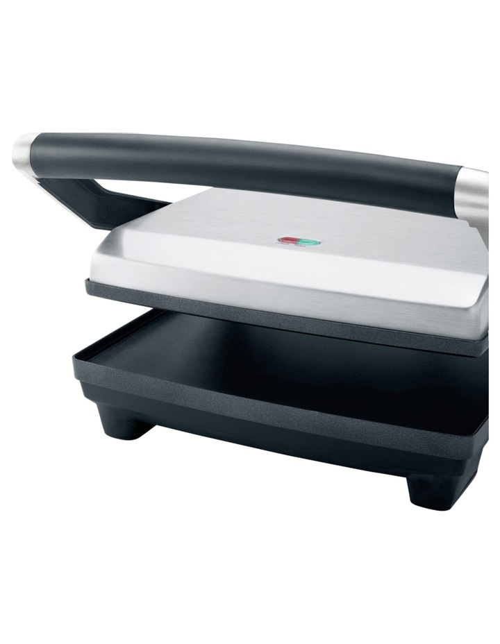 The Toast & Melt 4 Slice Sandwich Press: Stainless Steel BSG540BSS image 5