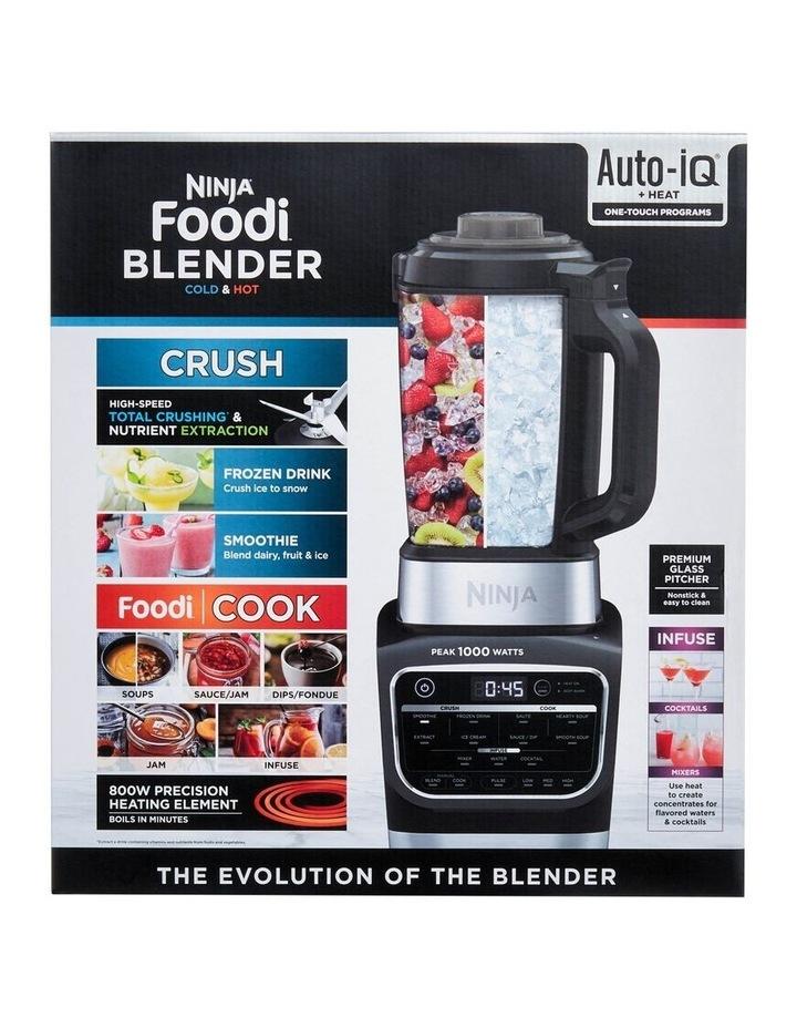 Foodi Cold & Hot Blender Black/Silver HB150 image 4