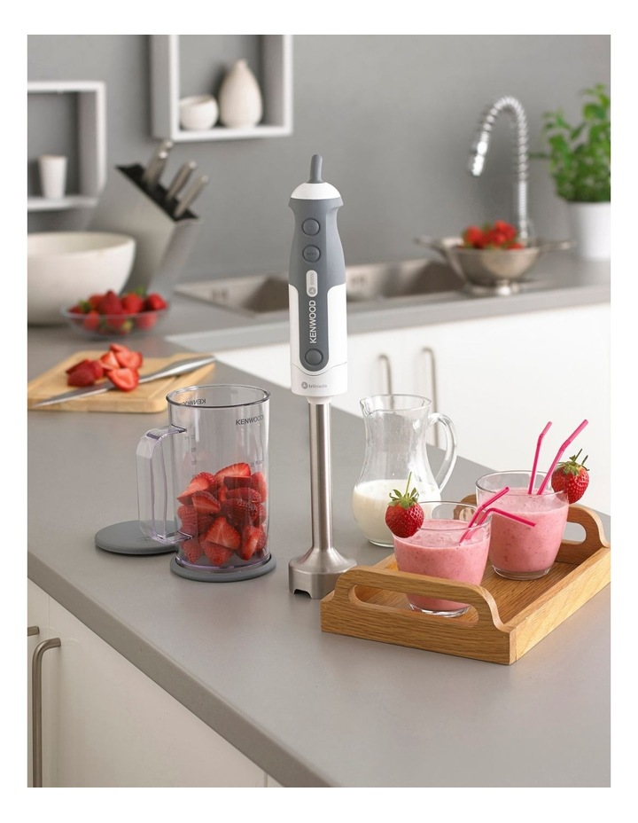 Triblade Hand Blender in White/Grey HDP306WH image 3