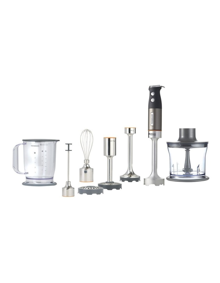 TrI-Blade System Pro Hand Blender: Silver HDM808SI image 1