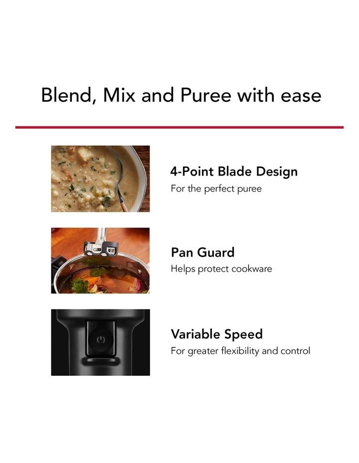 Cordless Variable Speed Hand Blender Almond Cream 5KHBBV83AAC image 5