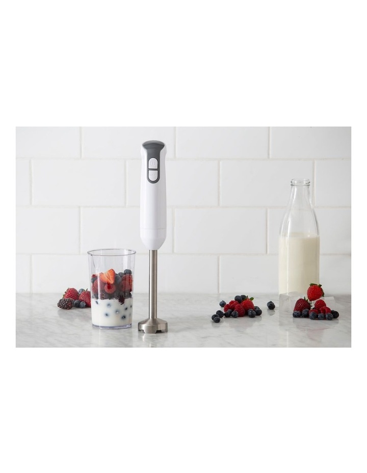 Electric Ice Crusher Stick Blender in White/Stainless Steel DES0460 image 2