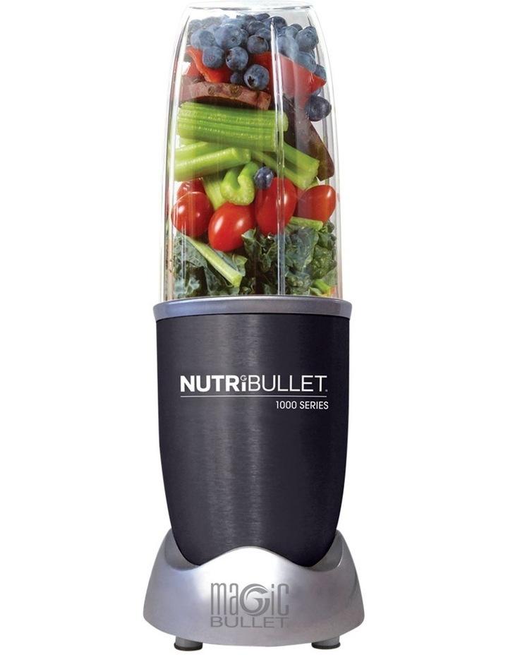1000 watt 9 piece Nutrient Extractor Blender: Dark Grey N10-0907DG image 2