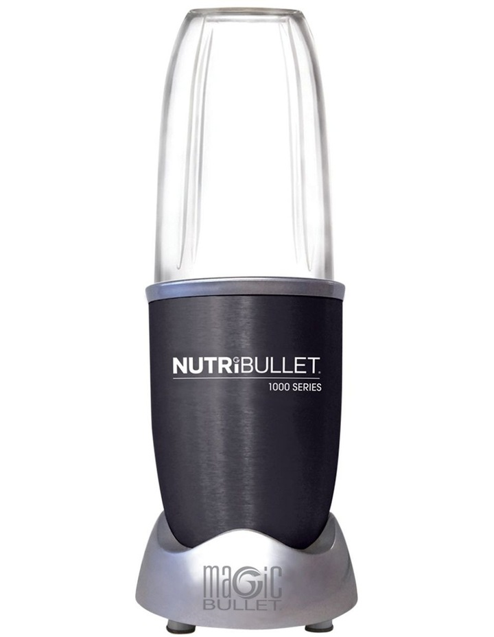 1000 watt 9 piece Nutrient Extractor Blender: Dark Grey N10-0907DG image 4