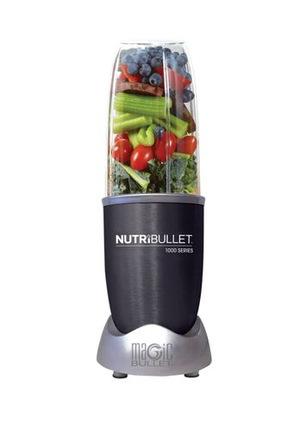 Nutribullet - 1000 watt 9 piece Nutrient Exractor: Dark Grey: N10-0907DG