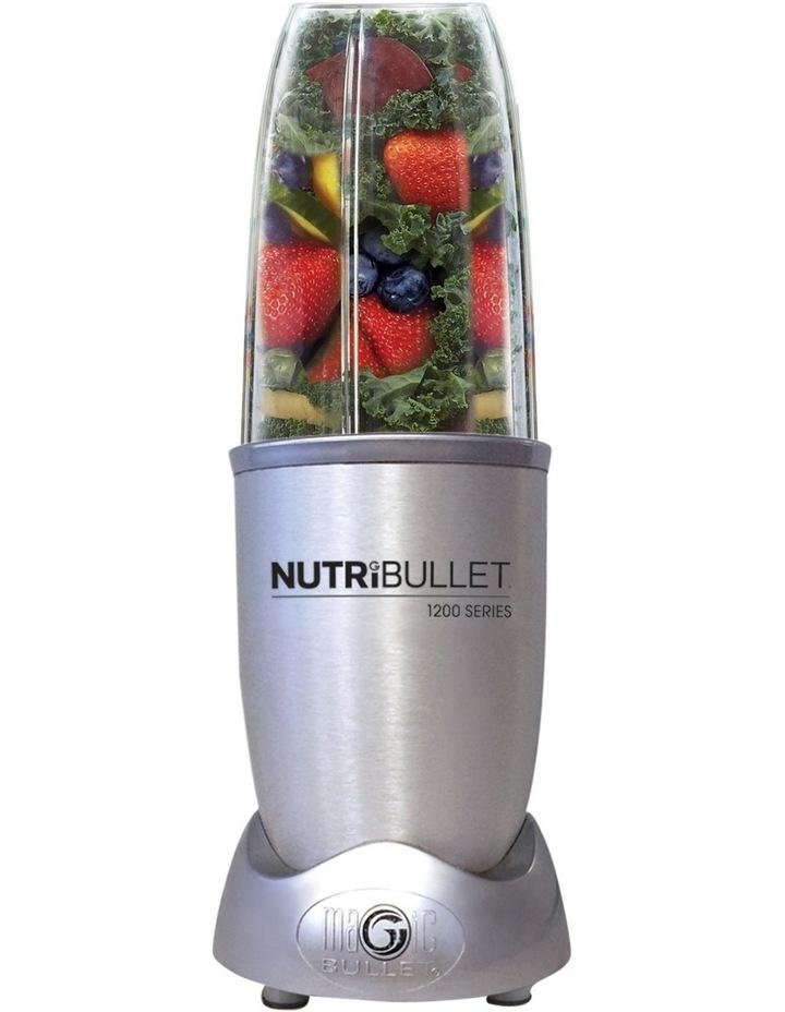 1200 Watt Series 12 Piece Nutrient Exractor Blender: Silver N12-1207 image 1
